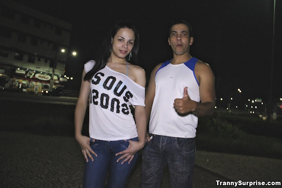 Beautiful Brazilian T-Girl Power Destroyed Up Her Tight Ass