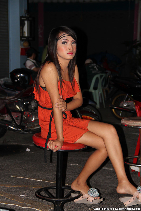 Candids Of Provocative Pattaya Tgirls At Sex Bars And Freelance