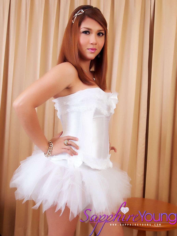 Feminine Thai Trans Girl Is A Sexy Ballerina
