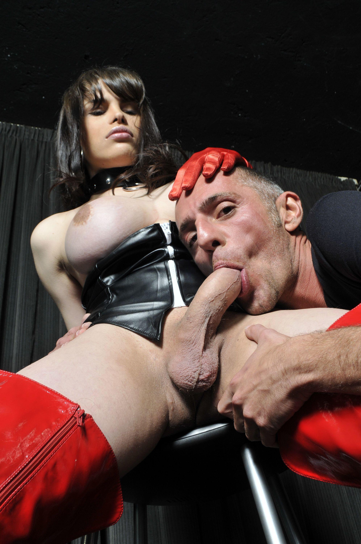 Ladyboy Sucks In 69 Pose