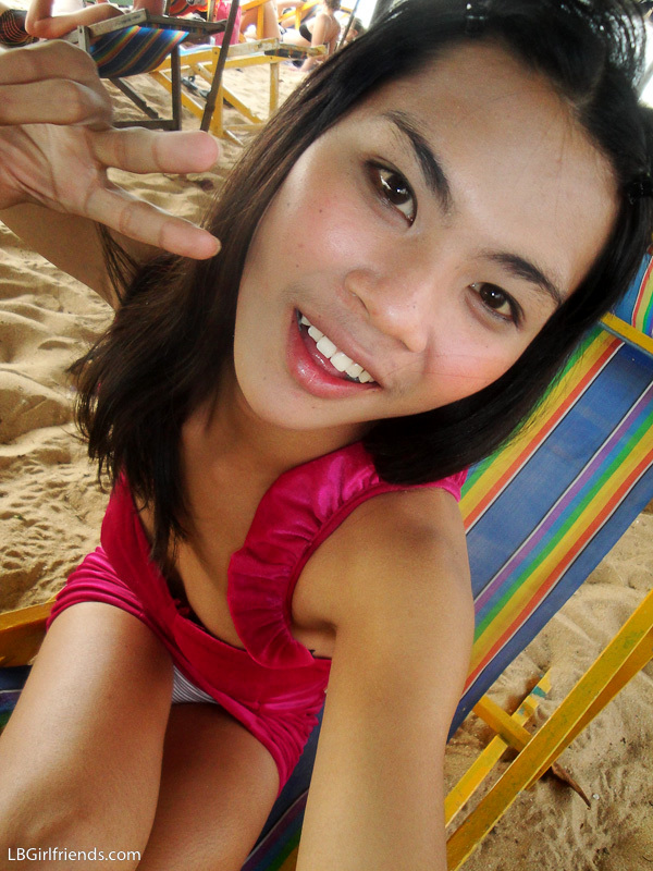 Girlfriend Photos Of Tgirl June On Beach And Asshole Naked
