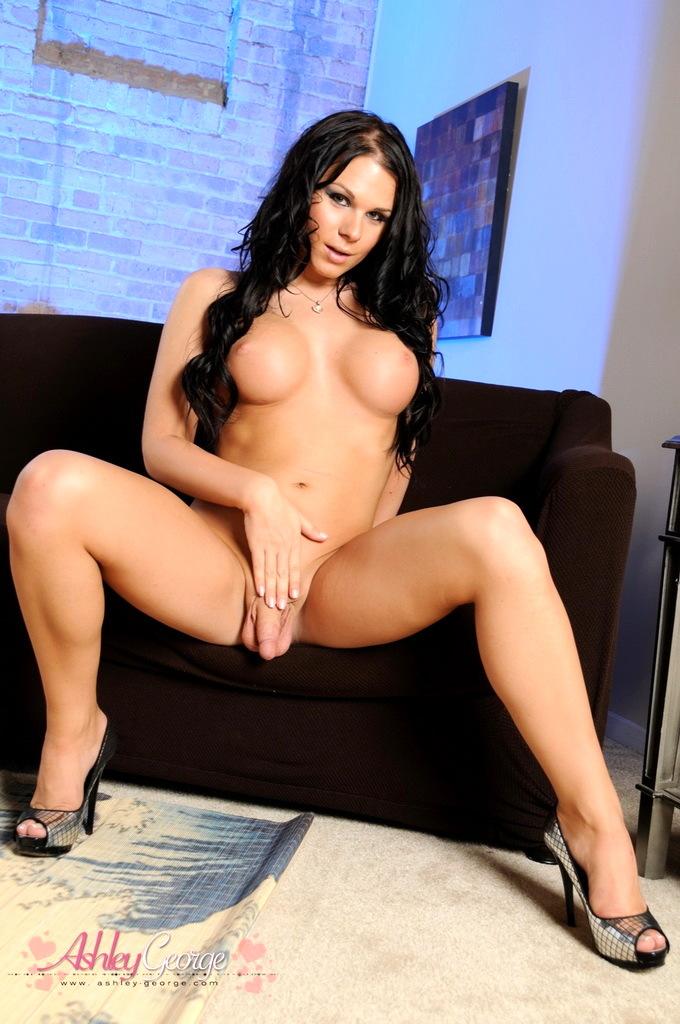 Nice TS Ashley George Posing Her Pretty Body