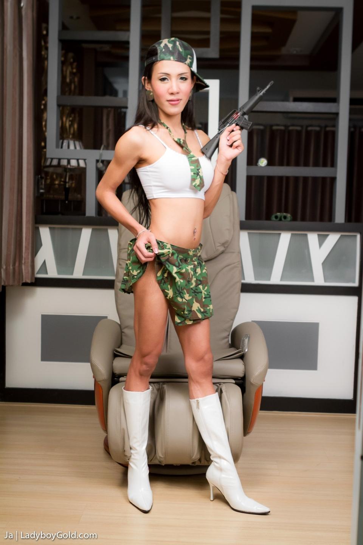 Ja S Holding A Gun, But Has A Much Bigger Gun In Her Lingerie