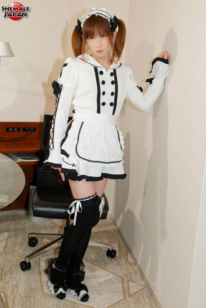 Japanese Tgirl Hiromi Desires Dressing Up In Cosplay. Whethe