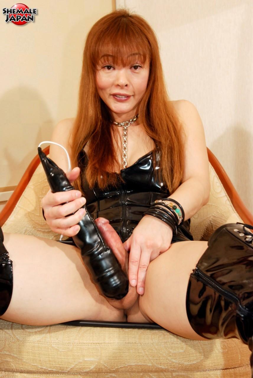 Japanese Tranny Tsugumi Is A True Freak. She Is A Sex Addic