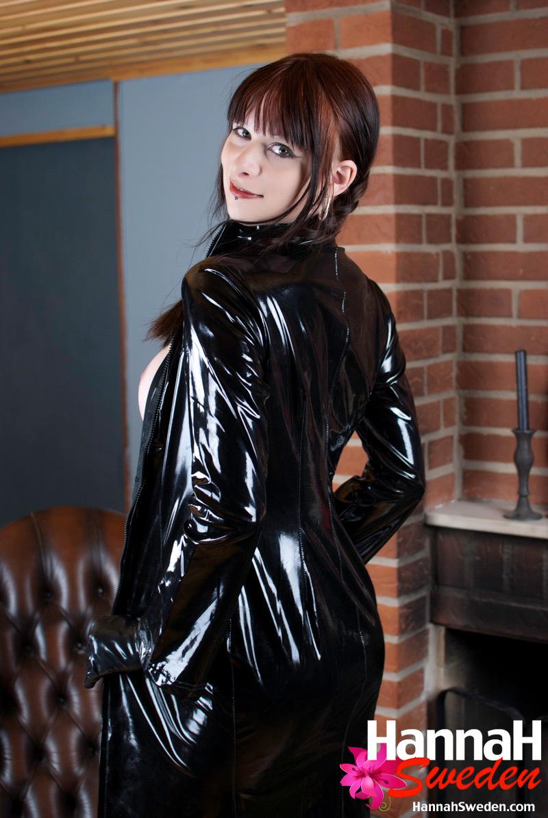 Kissable European T-Girl Has HUGE TITS And A Nice Littler Pecker