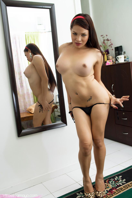 Lovely Ts Vitress Tamayo Gets Buck Naked