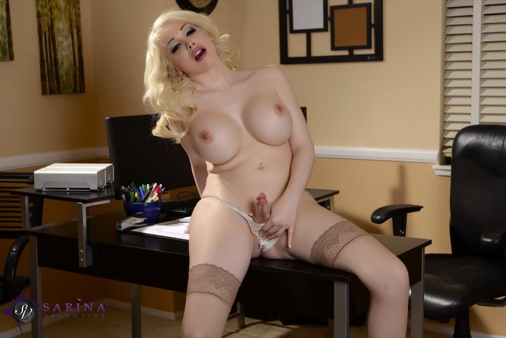 Secretary Sarina Wanks In The Office