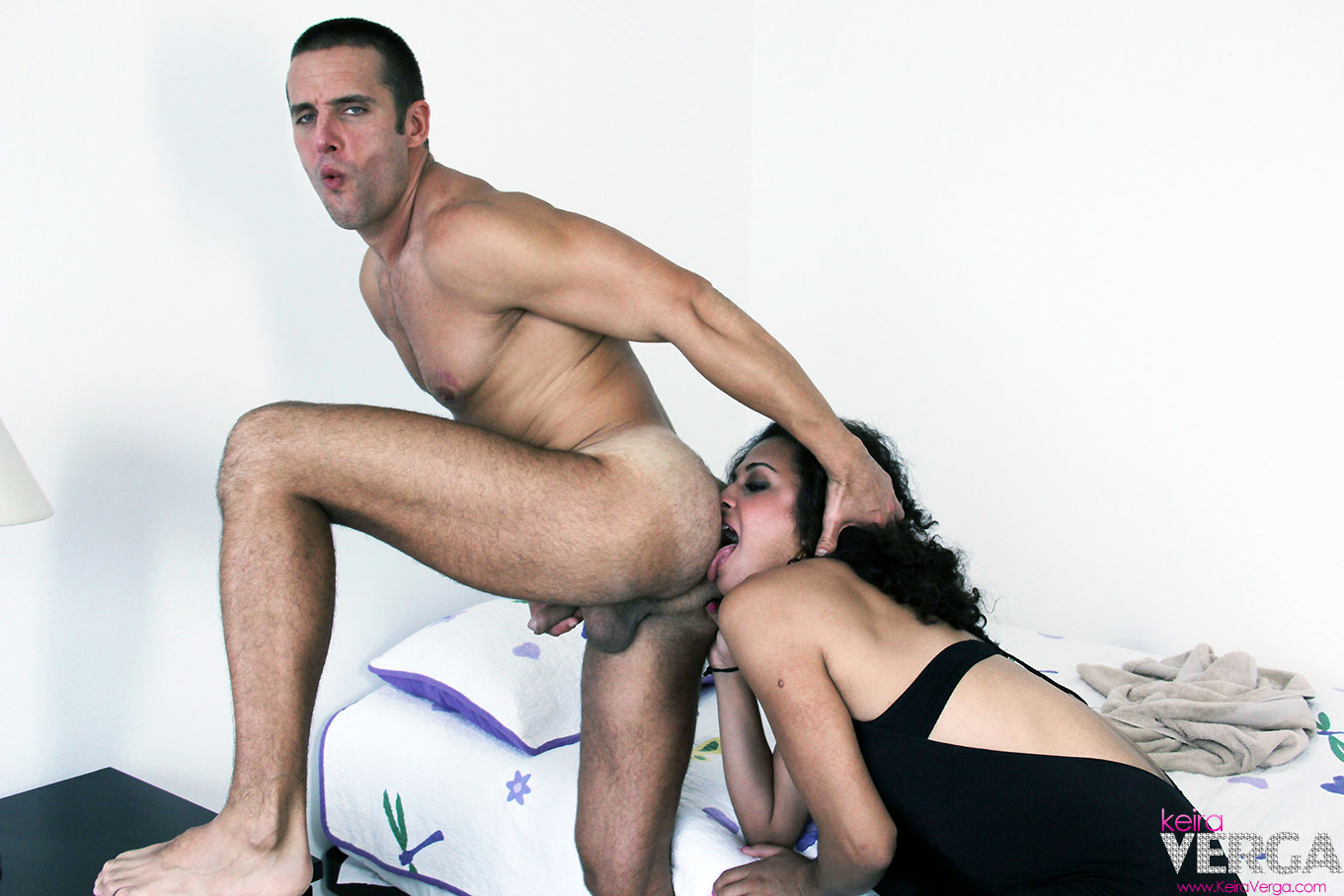 Shemale Keira Fuck's Rough With Her Enormous Dick
