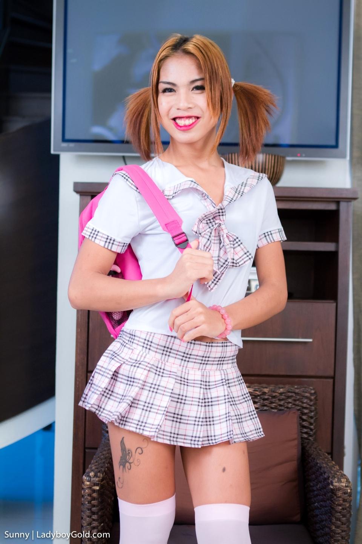 Sunny Is A Nasty Schoolgirl! She Craves Teasing Boys In Short