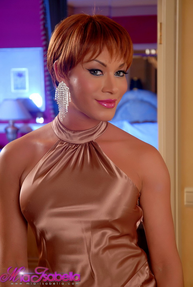 Super Arousing Mia Isabella Posing In Vegas