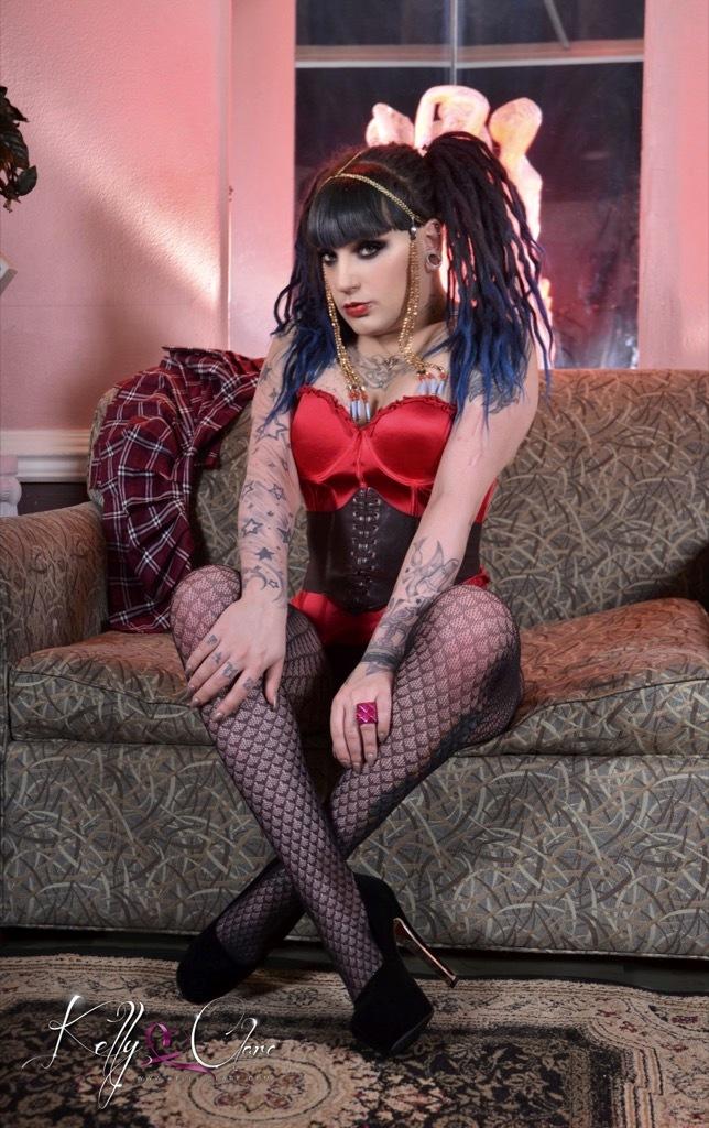 Punk Rock School-Girl Kelly Jac