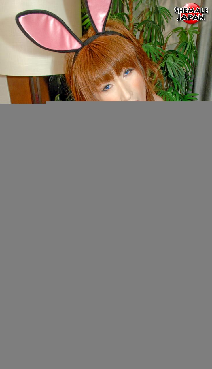 Tgirl Japan: Ayaka - Hippity Naughty Bunny!