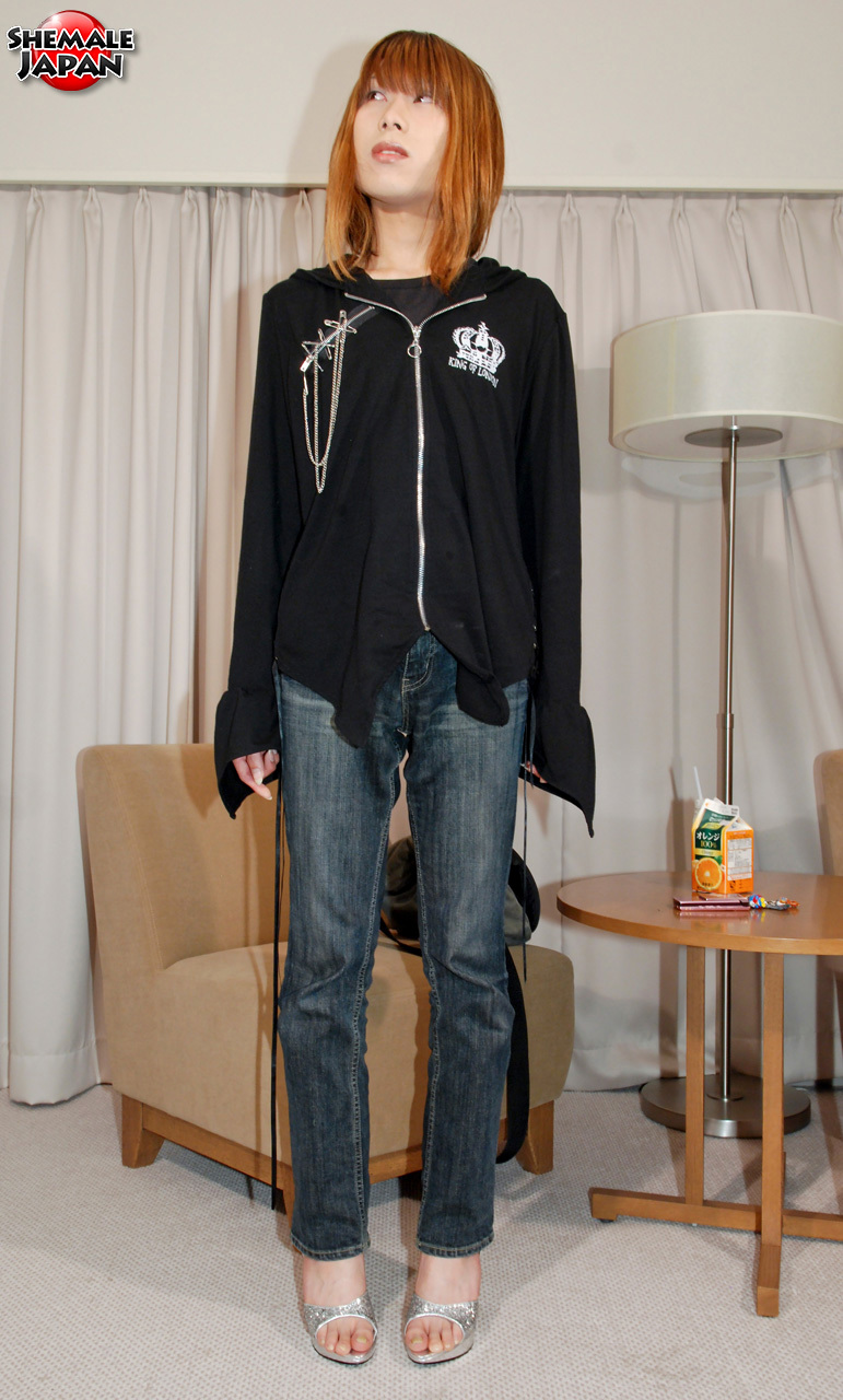 Ts Japan: Yuuki - Filthy Newhalf In Heels!