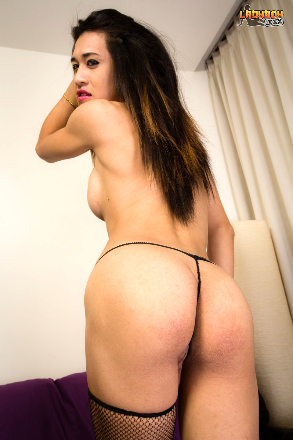 Wise Is A Funny 25 Year Old Transexual From Bangkok. She Smiles