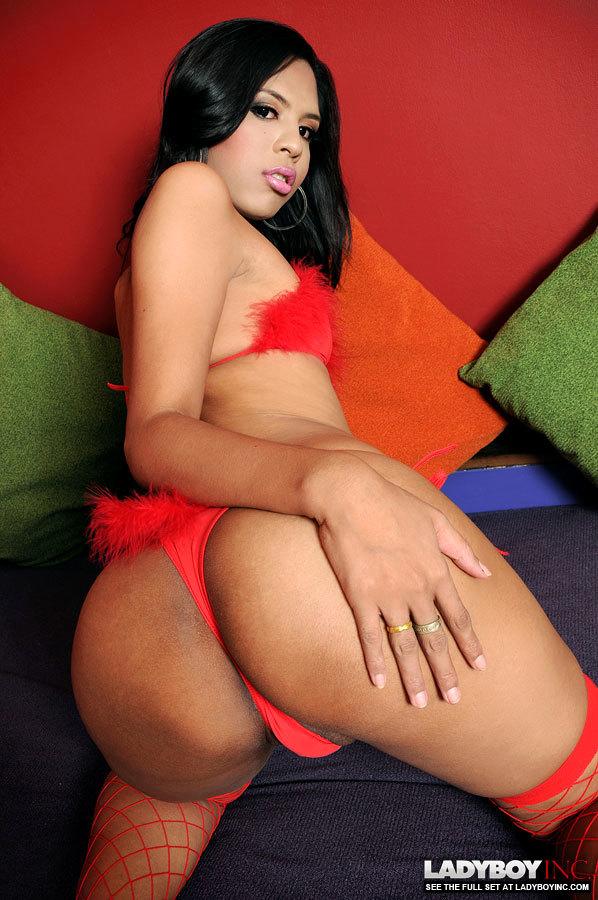 Yummy T-Girl With Huge Balls